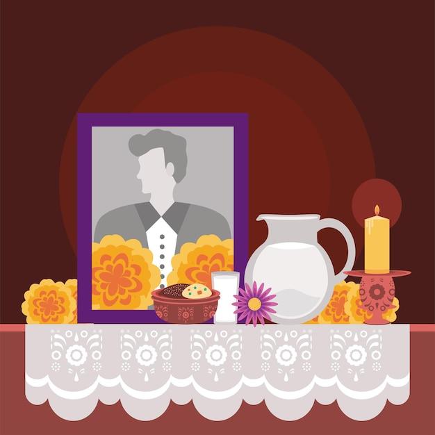 Tag des toten altars