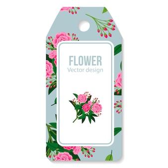 Tag mit pfingstrosen bouquet