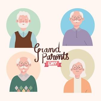Tageskarte der großeltern