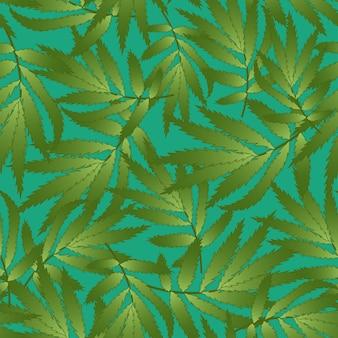 Tagetes auf grünem hintergrund