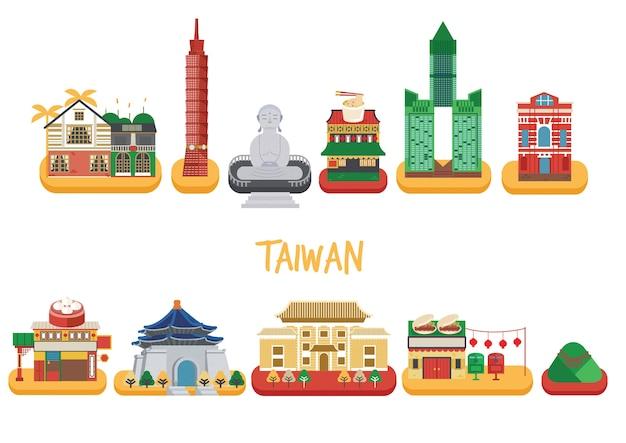 Taiwan gebäude pack