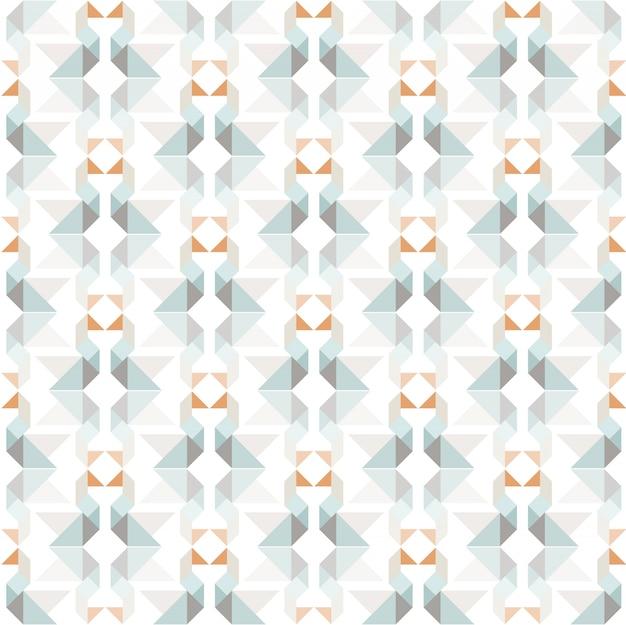 Tangram vektor nahtlose muster. schwäne geometrische formen hintergrund.