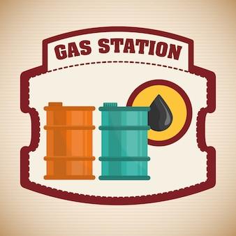 Tankstelle design