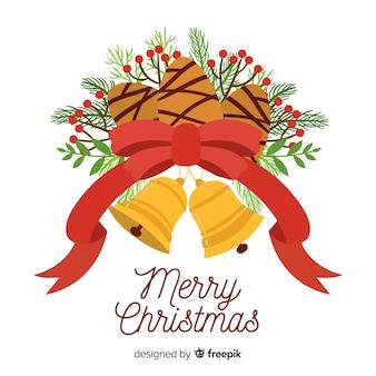 Tannenzapfen weihnachten hintergrund