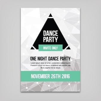 Tanz-party-plakat-vorlage