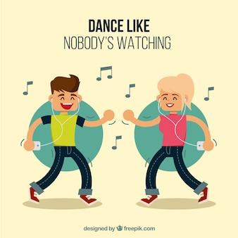 Tanz wie niemand passt auf