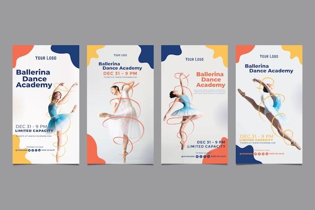 Tanzakademie instagram geschichten vorlage