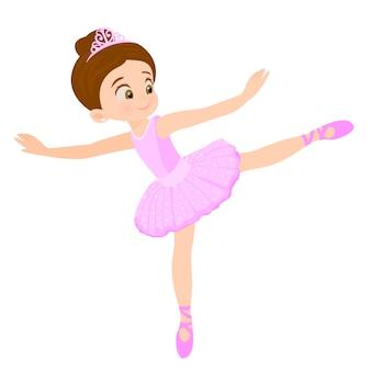 Tanzballett des kleinen mädchens