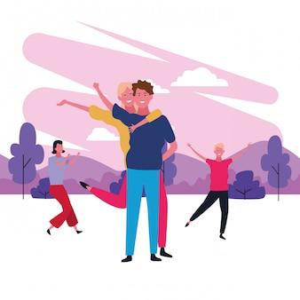 Tanzendes paar avatar