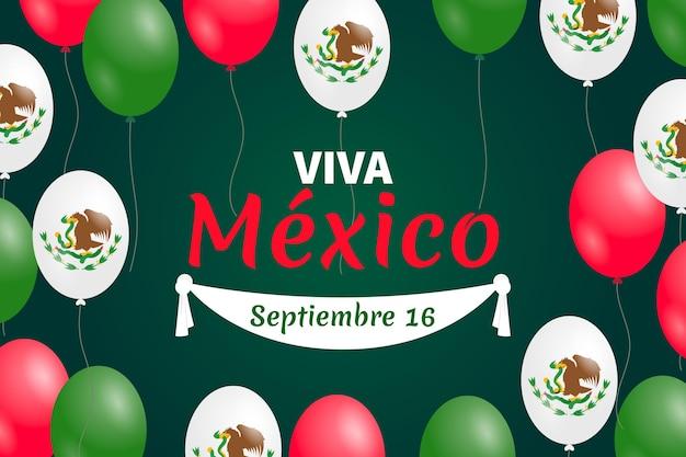Tapete des mexikanischen unabhängigkeitskrieges