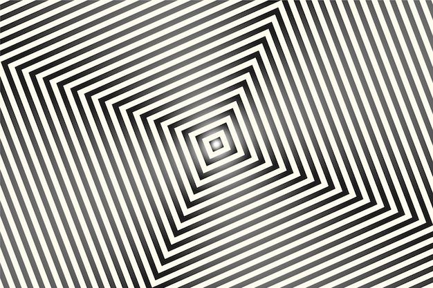 Tapete mit psychedelischem optischen täuschungskonzept