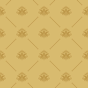 Tapete nahtloses barockmuster. renaissance dekor viktorianischen stil.