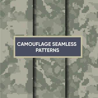 Tarnung militärisches nahtloses muster