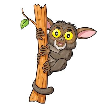 Tarsius niedlichen cartoon