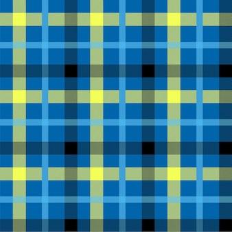 Tartan blaue farbe nahtlose vektormuster. t-shirt-stoffbeschaffenheit. serviettentextilhintergrund