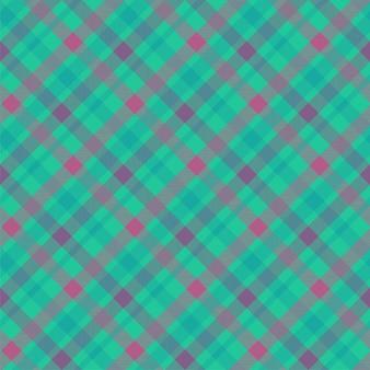 Tartan farbe nahtlose vektormuster. karierte stoffstruktur. karierter blauer textilhintergrund