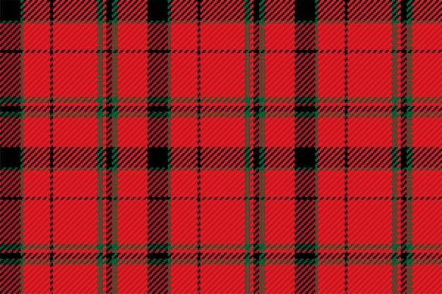 Tartan karierter zeichnungsvektorhintergrund. modemuster. vektortapete für weihnachten, dekorationen des neuen jahres. traditionelle schottische verzierung.