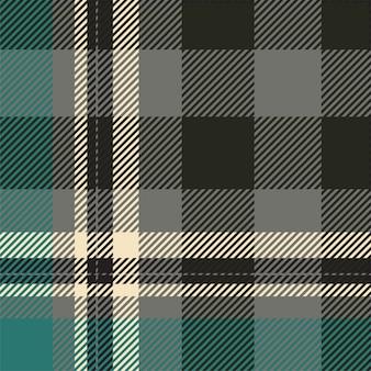 Tartan schottland nahtloser karierter mustervektor. retro hintergrundstoff. quadratische geometrische textur der weinleseprüfungfarbe.