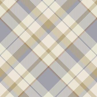 Tartan schottland nahtloses karomuster. retro stoff. vintage check geometrisch.