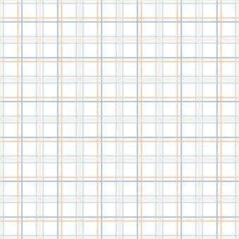 Tartanmuster nahtlos mit den blauen und orange tönen.