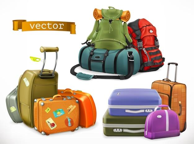 Tasche, rucksack und koffer