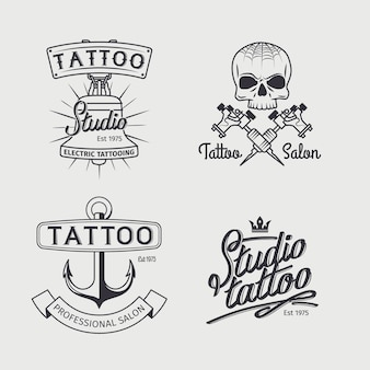 Tattoo studio logo vorlagen