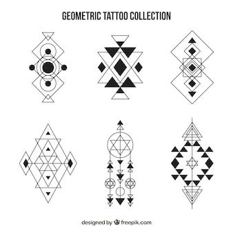 Tattoos satz von geometrischen formen