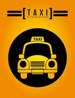 Taxi grafikdesign