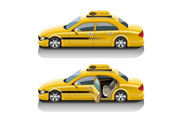 Taxi-service-set