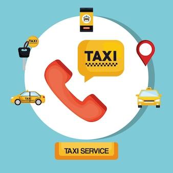 Taxi service transport öffentliche app