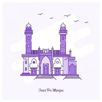 Taza pir mosque wahrzeichen