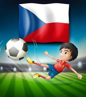 Team der fußball-tschechischen republik