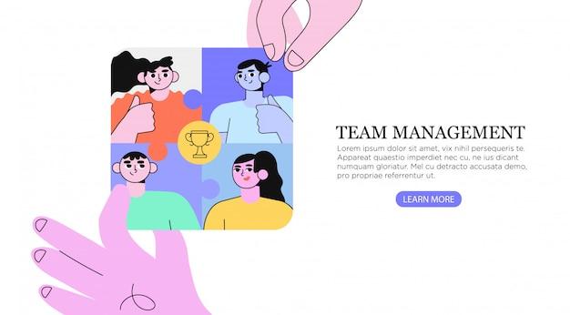 Teambuilding und erfolg.