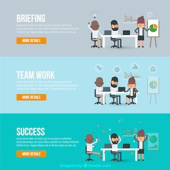 Teamwork in diferent situationen