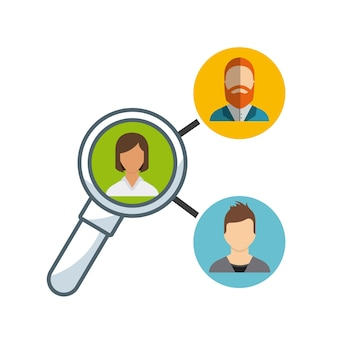Teamwork-Leute-Geschäftsikone