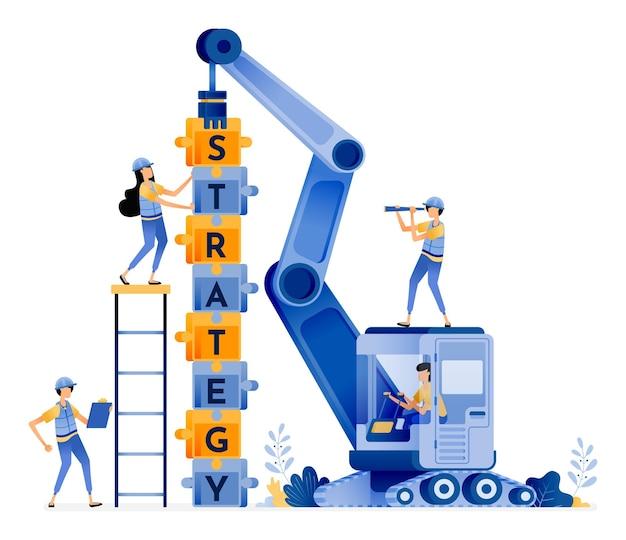 Teamwork mit strategien aufbauen
