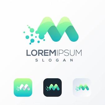 Tech-logo-vorlage