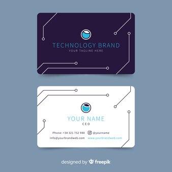 Tech-visitenkarte