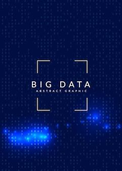 Technischer hintergrund der künstlichen intelligenz. digitale technologie, deep learning und big data-konzept. abstraktes visual für bildschirmvorlage. hintergrund der neuronalen künstlichen intelligenz.