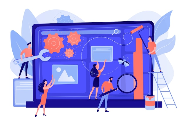 Technischer support, programmierung und codierung