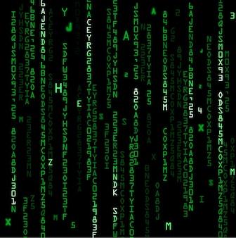Technologie-binär-code-hintergrund
