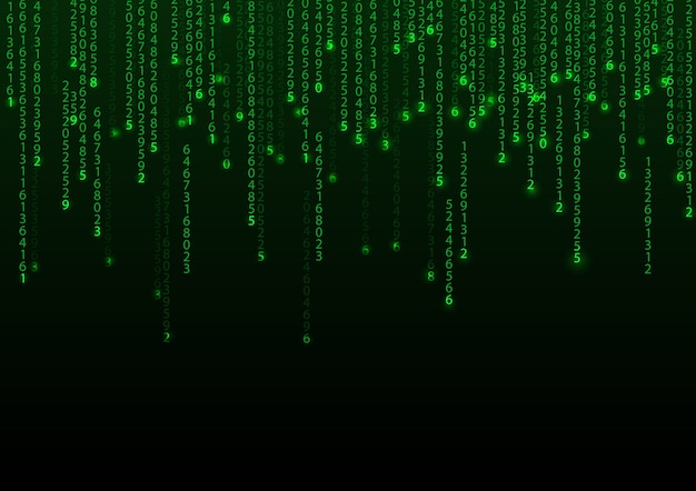 Technologie binär hintergrund
