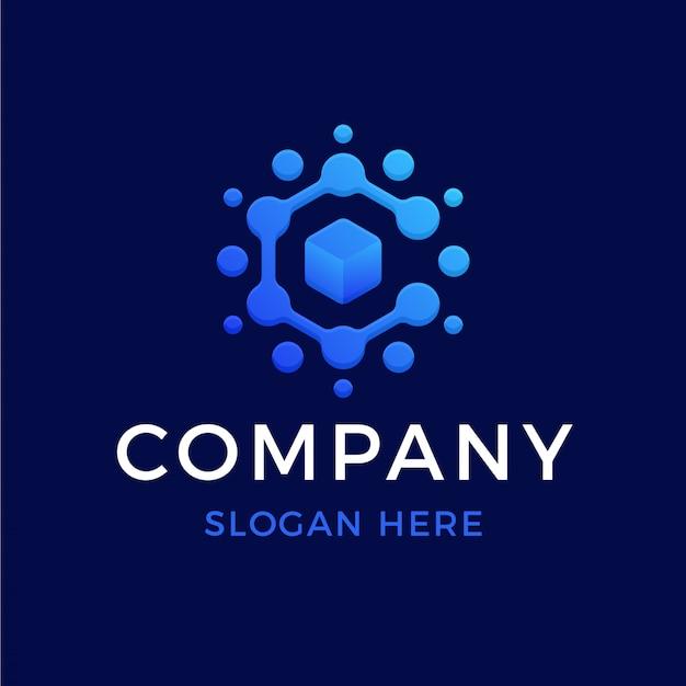 Technologie buchstabe c logo