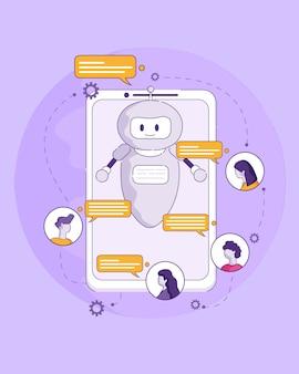 Technologie der künstlichen intelligenz zukunft im leben