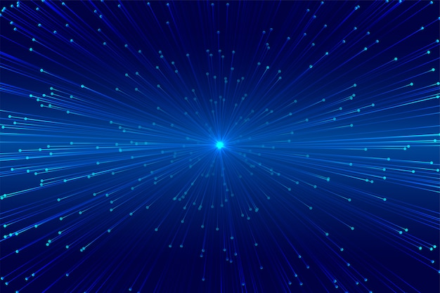 Technologie-design für burstlinien mit digitalem zoom
