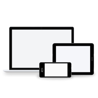 Technologie-digital-gerät-ikonen-vektor-konzept