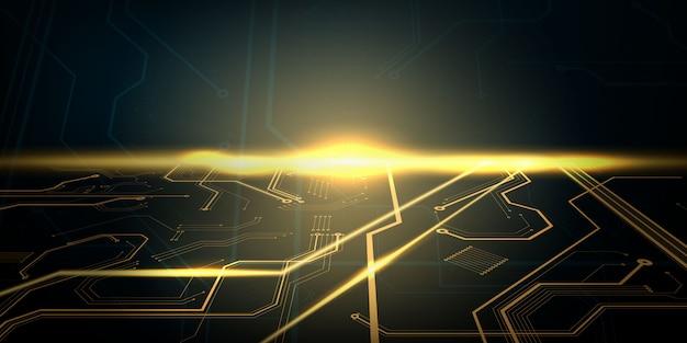 Technologie geometrisches technologie modernes konzept. abstrakter texturhintergrund