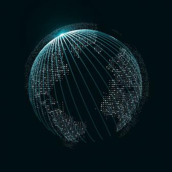 Technologie-globus