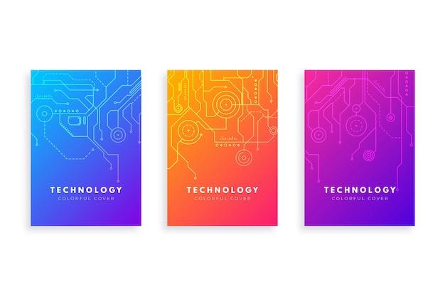 Technologie-gradient-abdeckungssatz