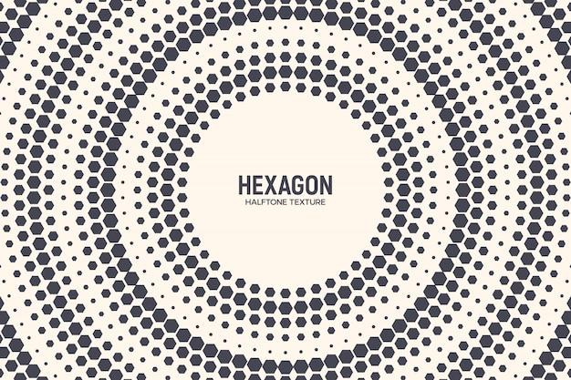 Technologie-hexagon-abstrakter hintergrund
